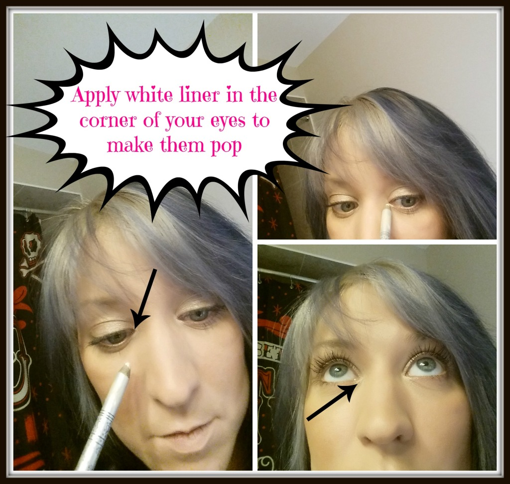 Stila White Liner Hack