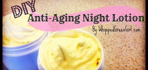 DIY Anti-Aging Face Lotion