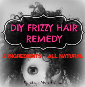 DIY HAIR FRIZZ REMEDY