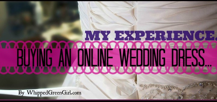 Buying an Online Wedding Dress
