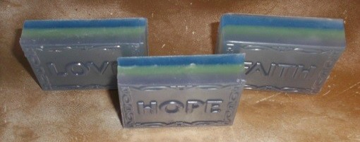 Love, Hope, Faith Beautiartsoaps.com Se