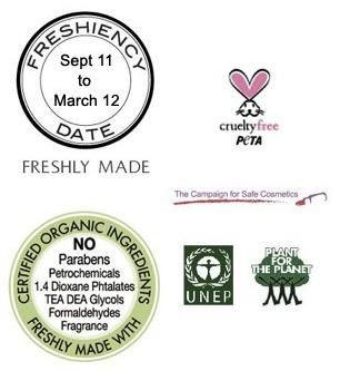 4 Odacite Organic Symbols