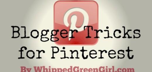 Bloggers Tricks for Pinterest