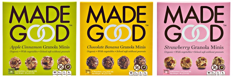 MadeGood (all granolas)