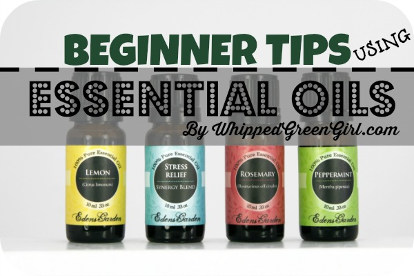 Beginner Tricks Using Essential Oils - By WhippedGreenGirl.com (Things I picked up in #aromatherapy school)