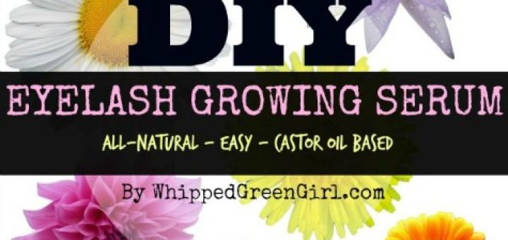 DIY Eyelash Growing Serum