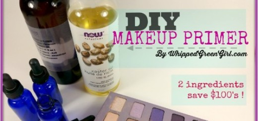 DIY Makeup Primer Recipe
