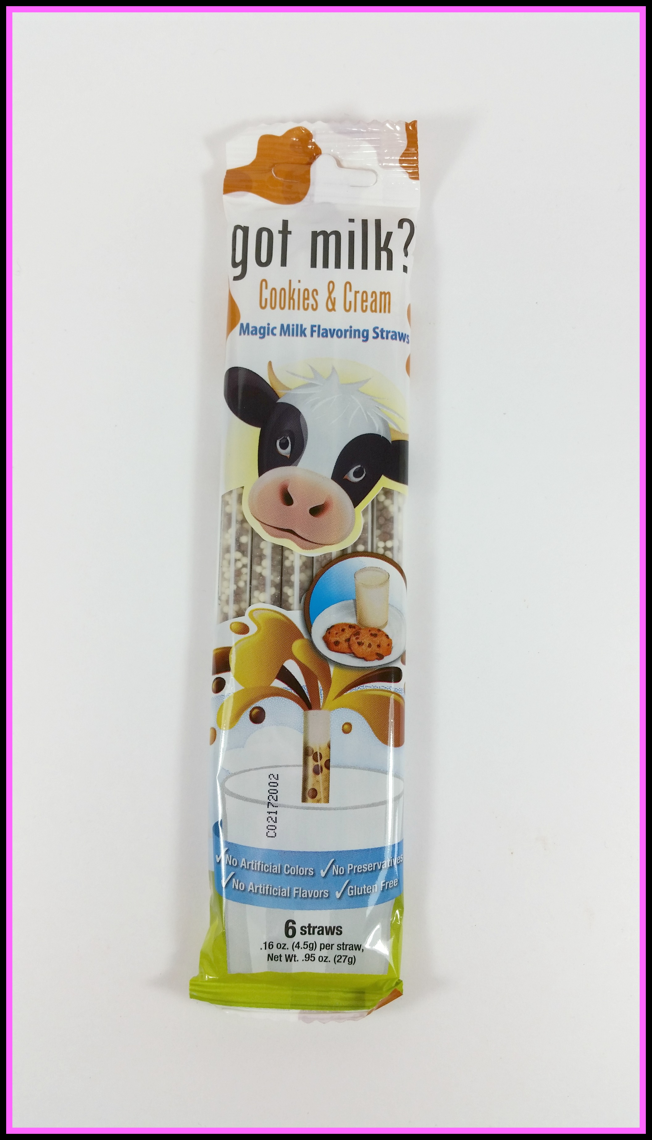 Milk straws in urthbox