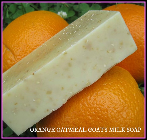Orange Oatmeal Goats Milk
