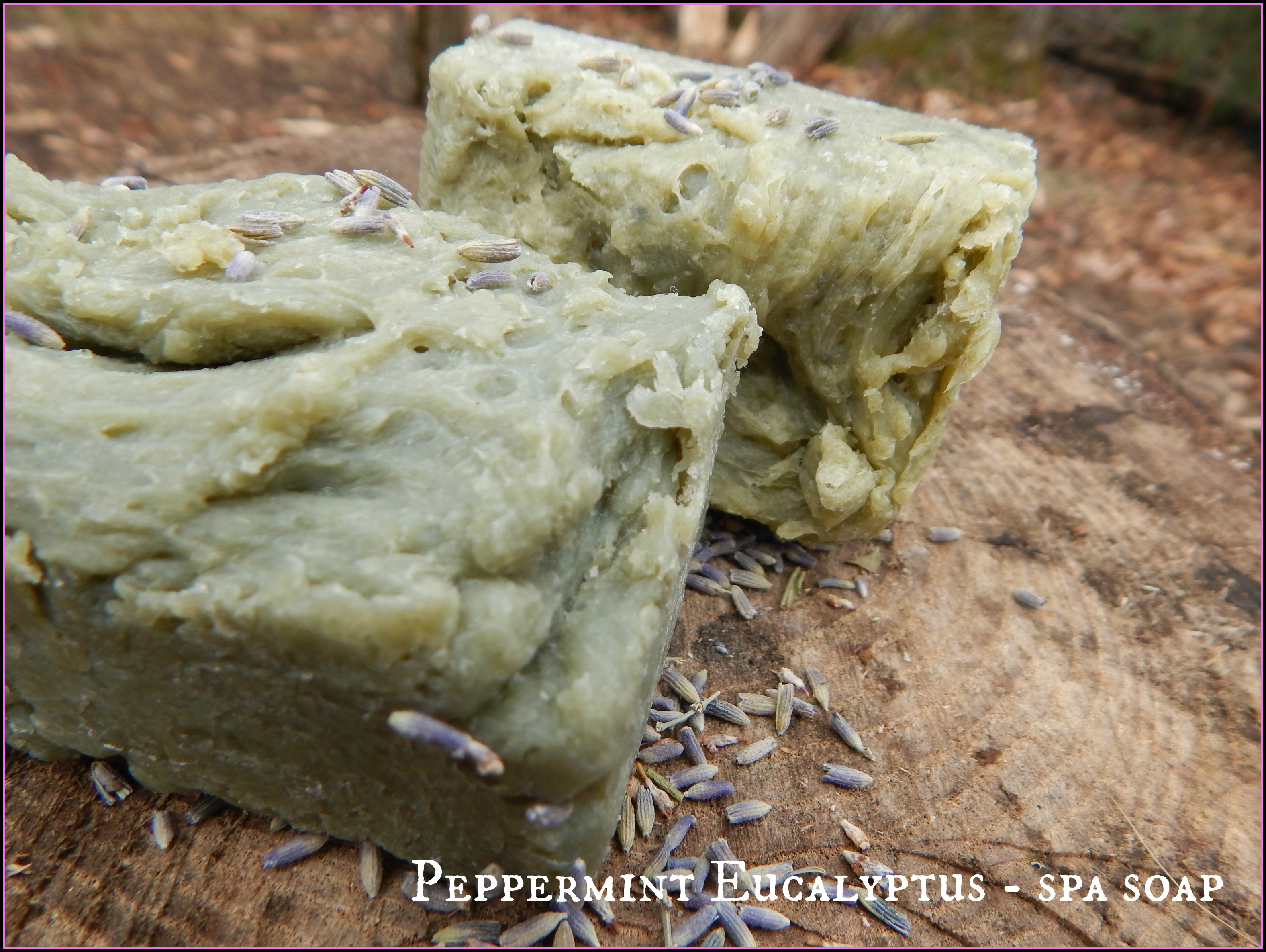 Peppermint Eucalyptus Soap