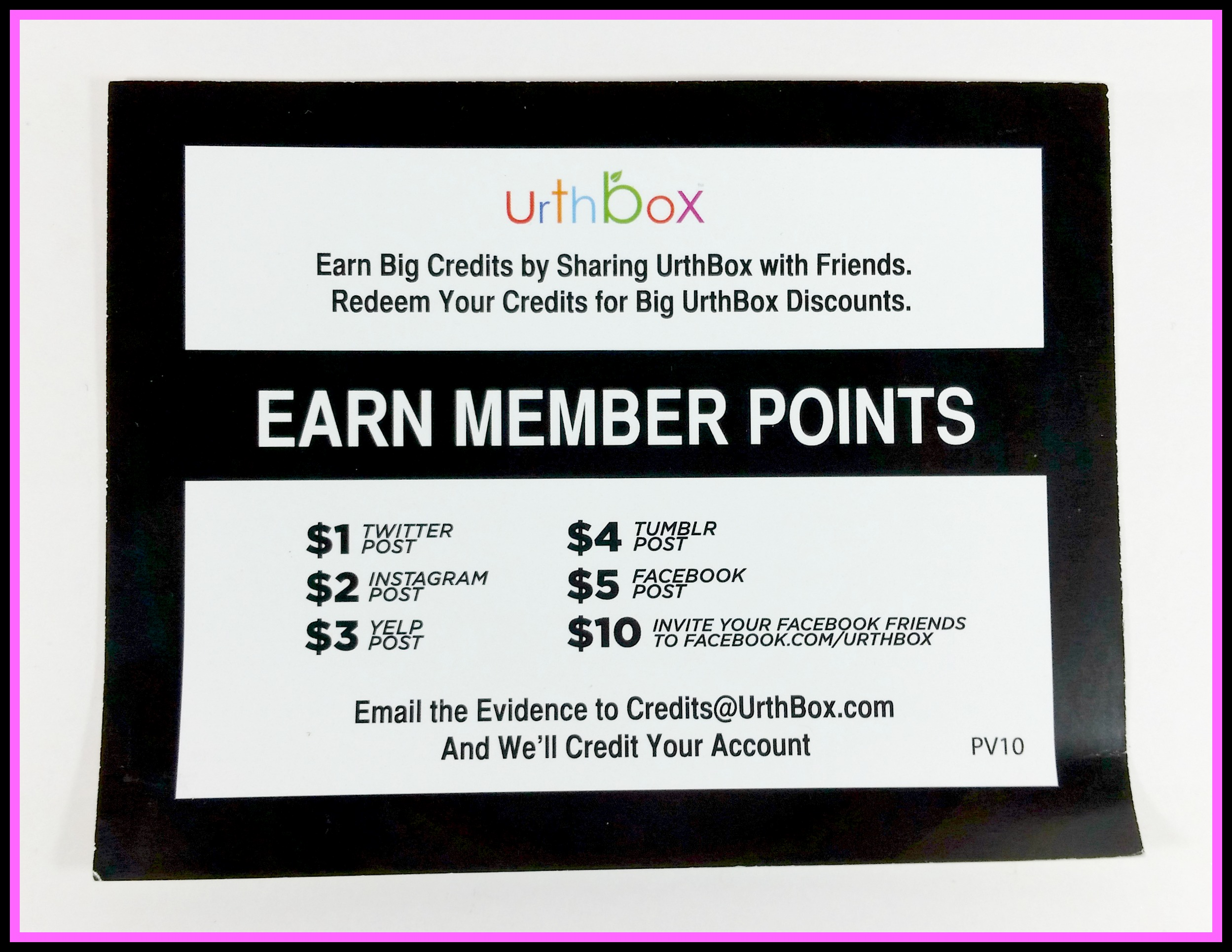 UrthBox Loyalty Program review