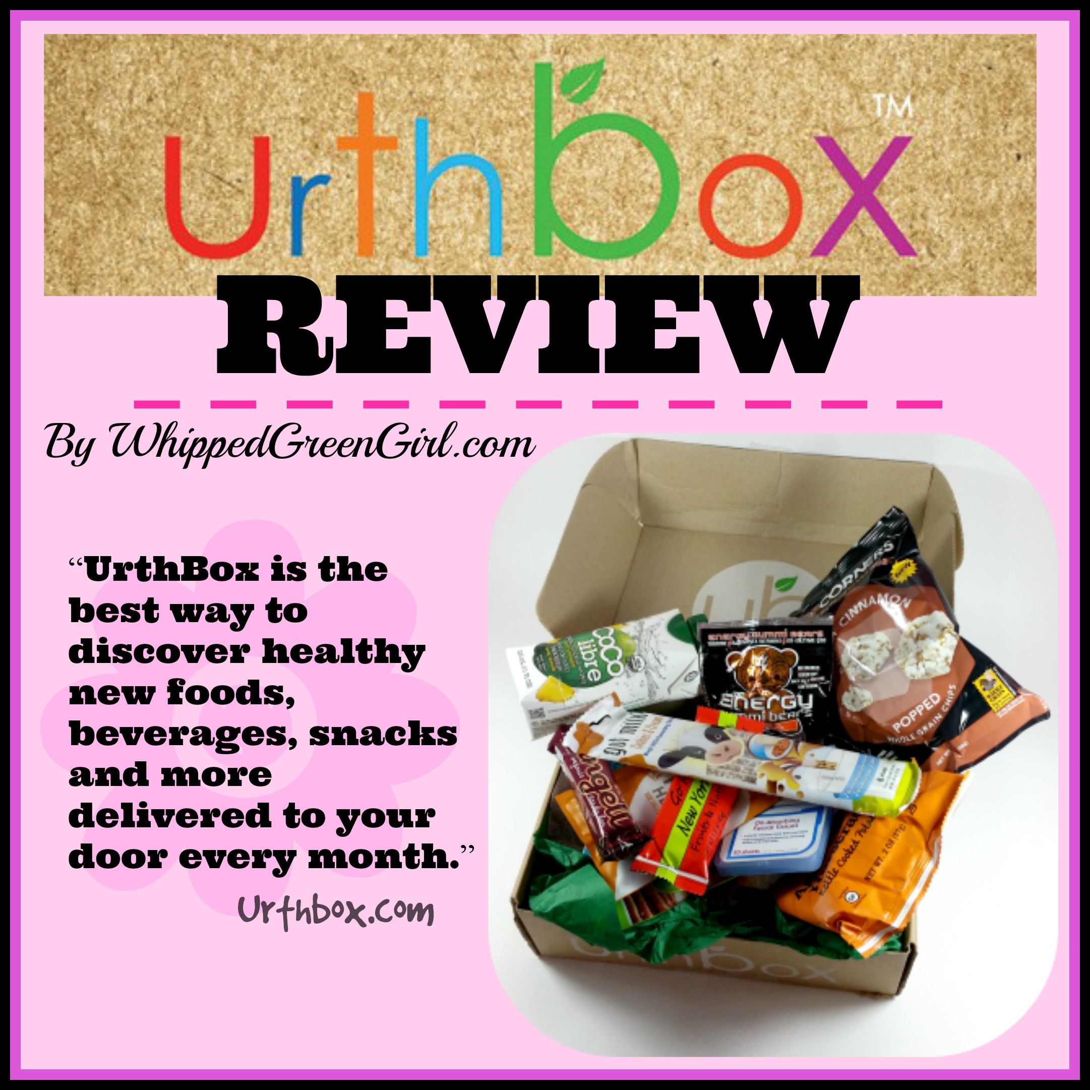 Urthbox monthly box review