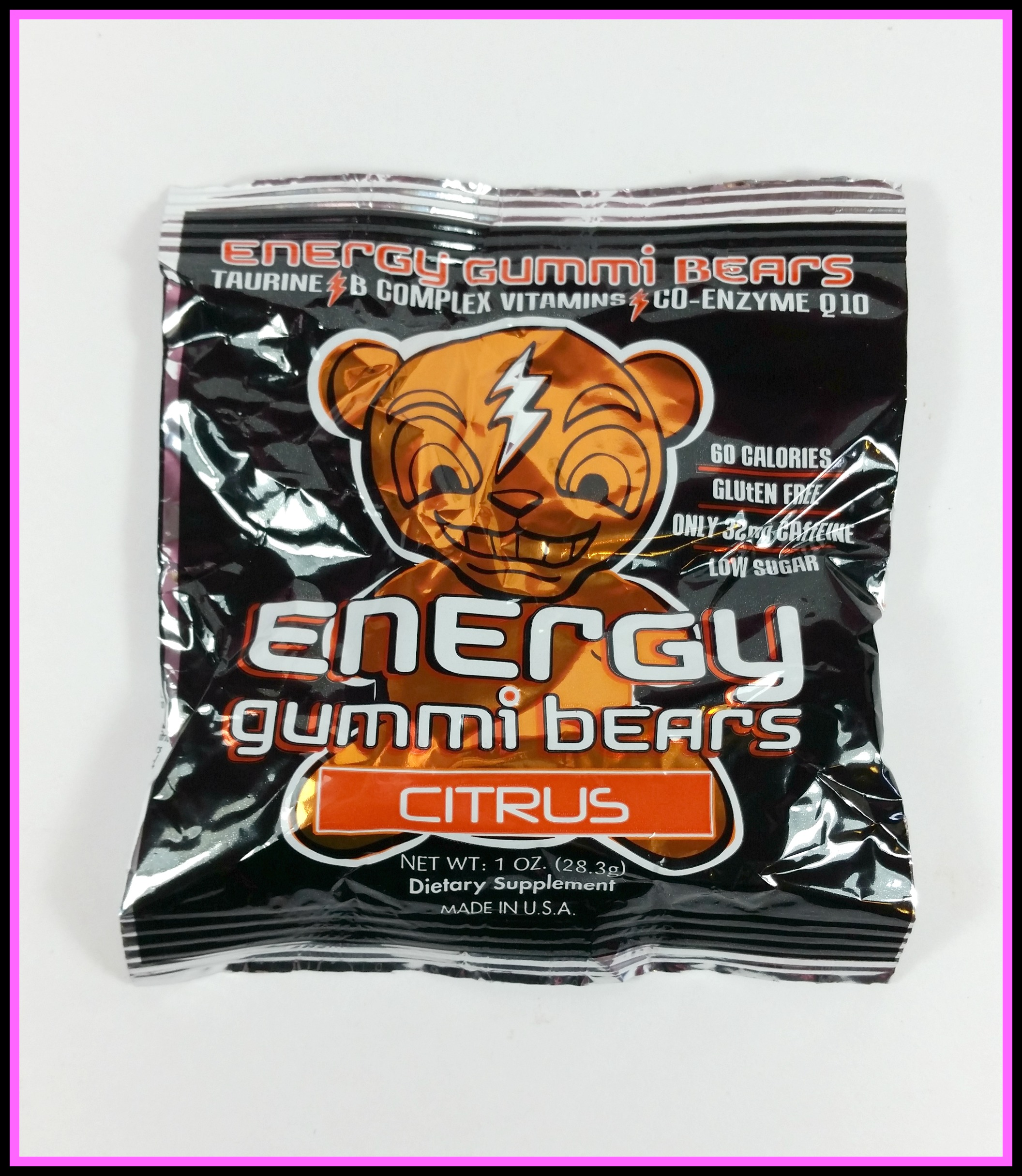 energy gummi bears review