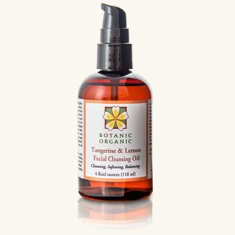tangerine lemon cleanser Botanic Organic