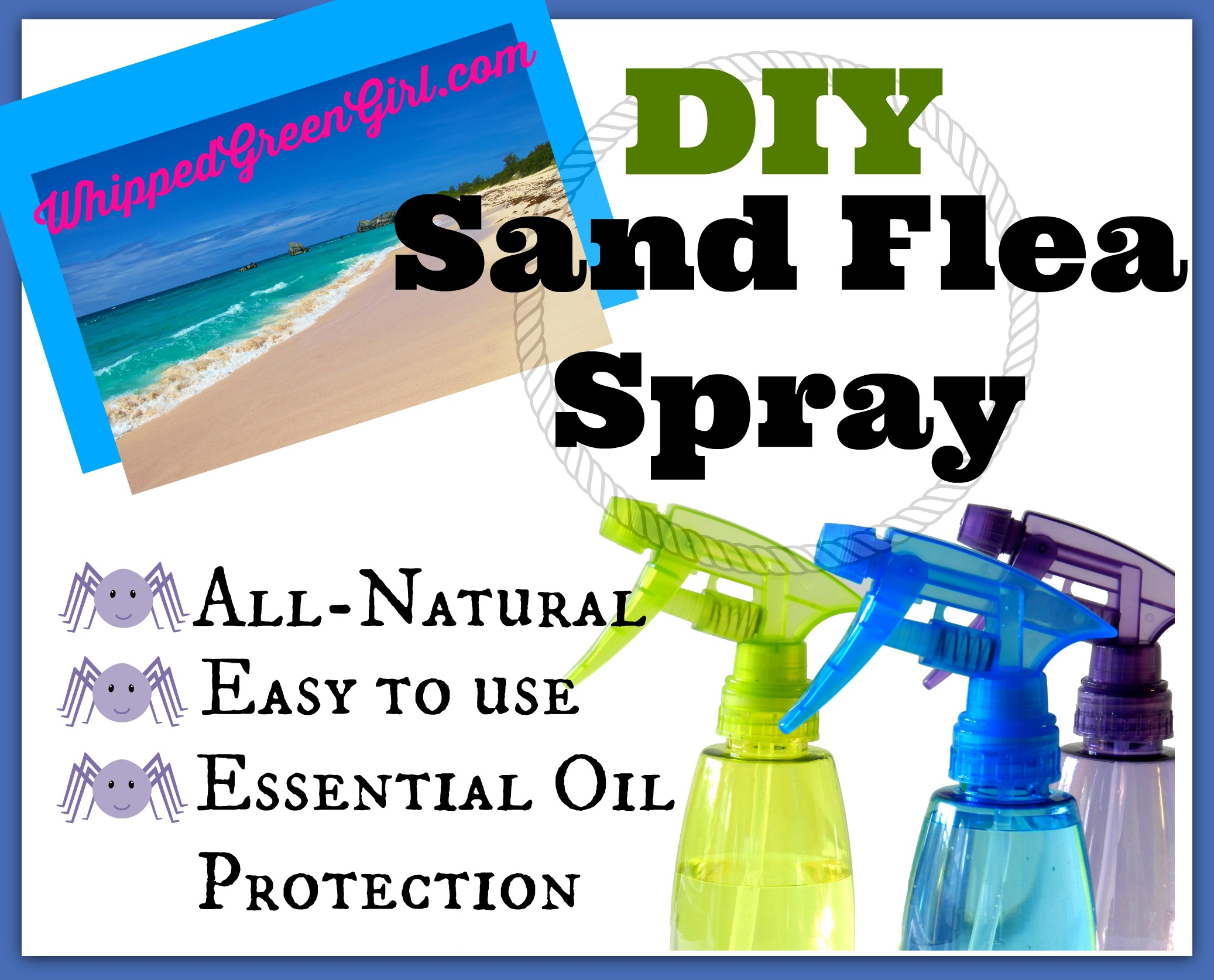 DIY Sand Flea Spray