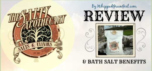 Salty Apothecary Bath Salt Review