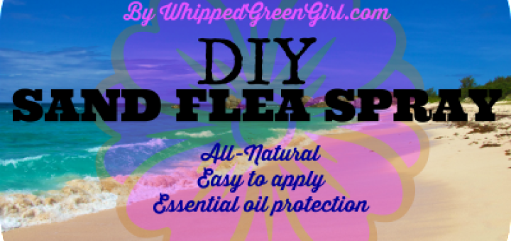 DIY Sand Flea Spray (#DIY protection, #allnatural, #essential oils) By WhippedGreenGirl.com