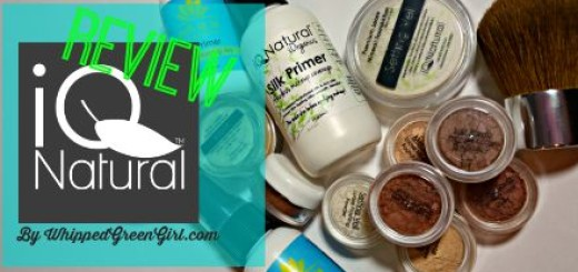 IQ Natural Cosmetics Review (By WhippedGreenGirl.com) #ORGANIC #MINERAL #MAKEUP