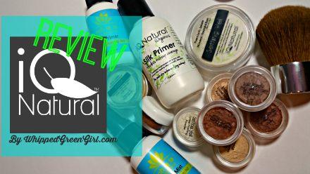 IQ Natural Cosmetics - WhippedGreenGirl.com