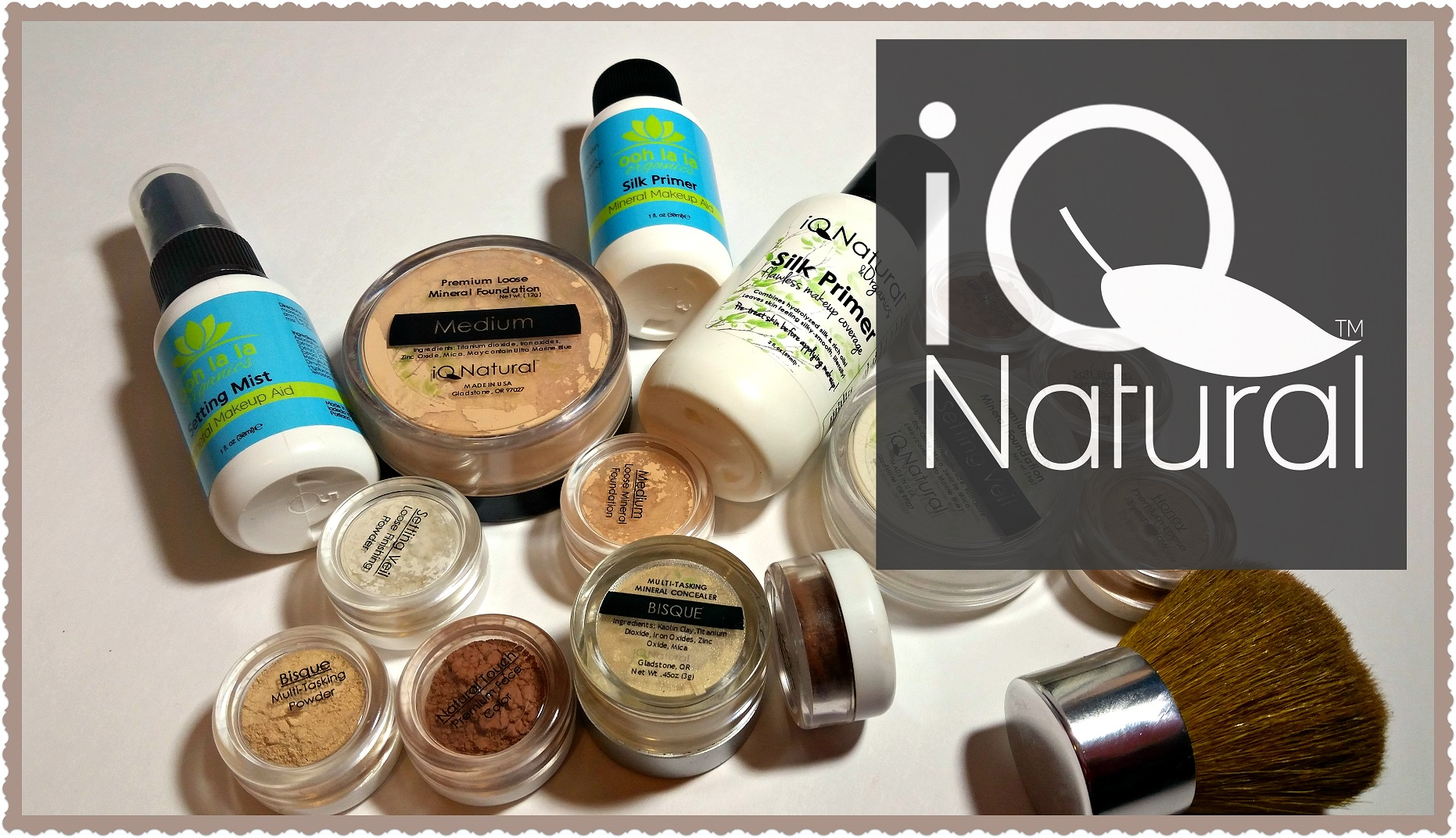 IQ Natural Cosmetics Review (By WhippedGreenGirl.com) #ORGANIC #MAKEUP
