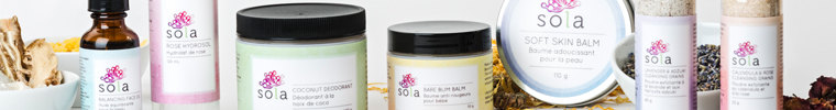 Sola Skincare Sampler Set Review by WhippedGreenGirl.com (#handmade, healthy, #skincare)