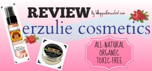 Erzulie Cosmetics Review (By WhippedGreenGirl.com) #organic #toxicfree #makeup