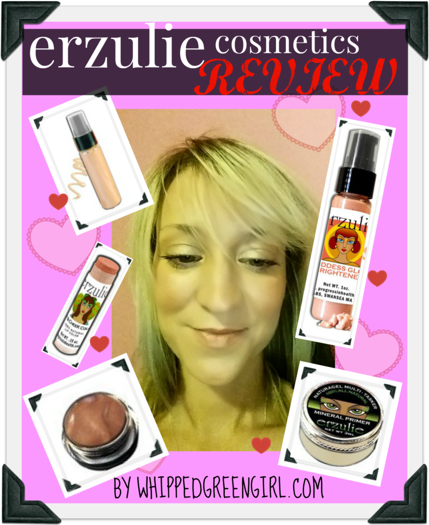 Erzulie Cosmetics #Review (clean, safe, organic- #makeup) By WhippedGreenGirl.com