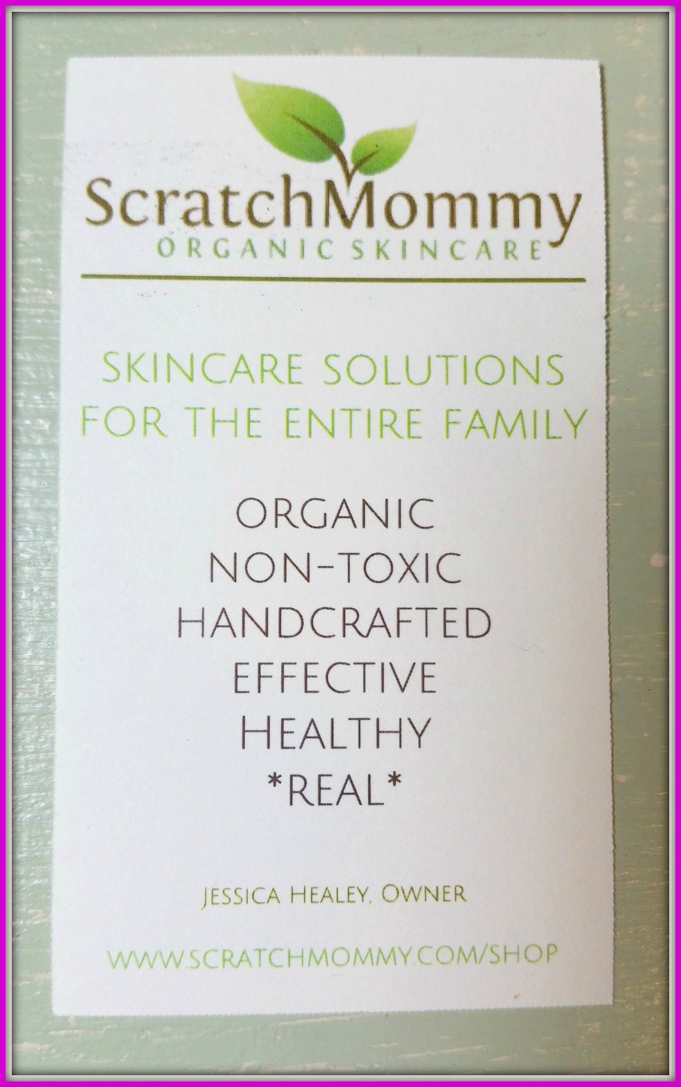 ScratchMommy Skincare Review (By WhippedGreenGirl.com