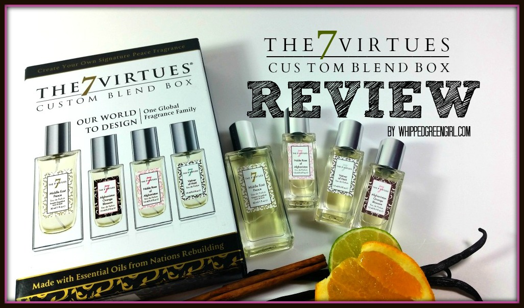 The 7 Virtues Blend Box Review (By WhippedGreenGirl.com) #perfume #organic #essentialoils
