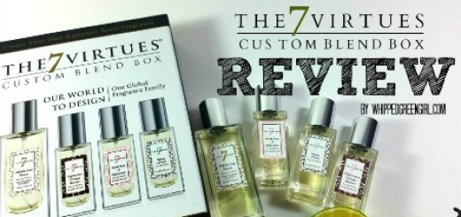 The 7 Virtues Custom Blend Box Review (By WhippedGreenGirl.com) #Review #organic #perfum