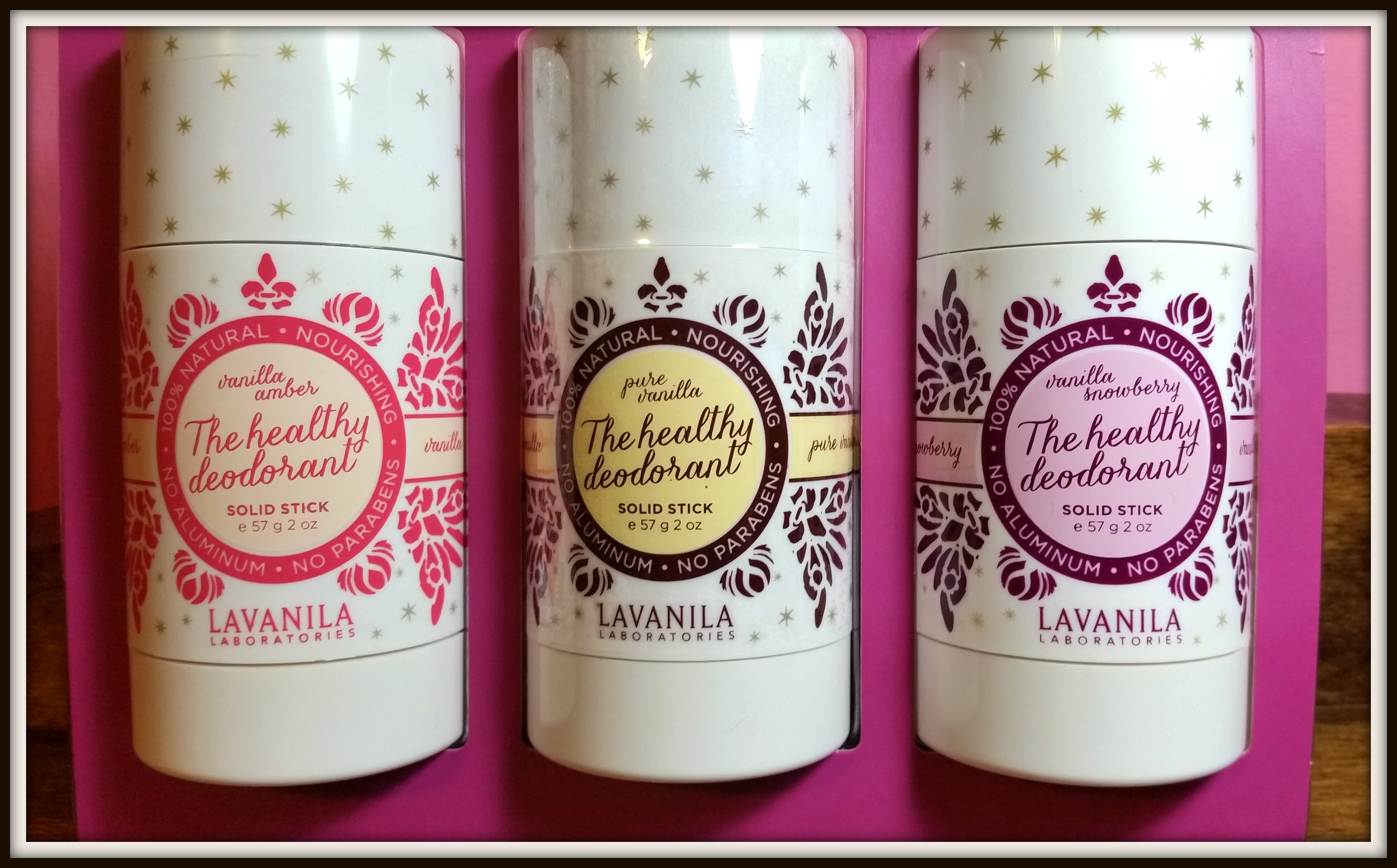 Lavanila Starlight Trio Deo Review (By WhippedGreenGirl.com)