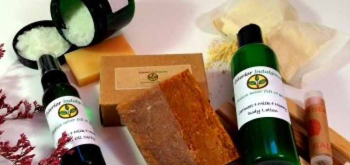 Exterior Indulgence Review - By WhippedGreenGirl.com (February Subscription Box) #Etsy - #Handmade #Skincare
