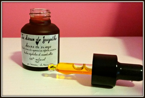 Les Soins de Jacynthe #Review (Face Serum) by WhippedGreenGirl.com