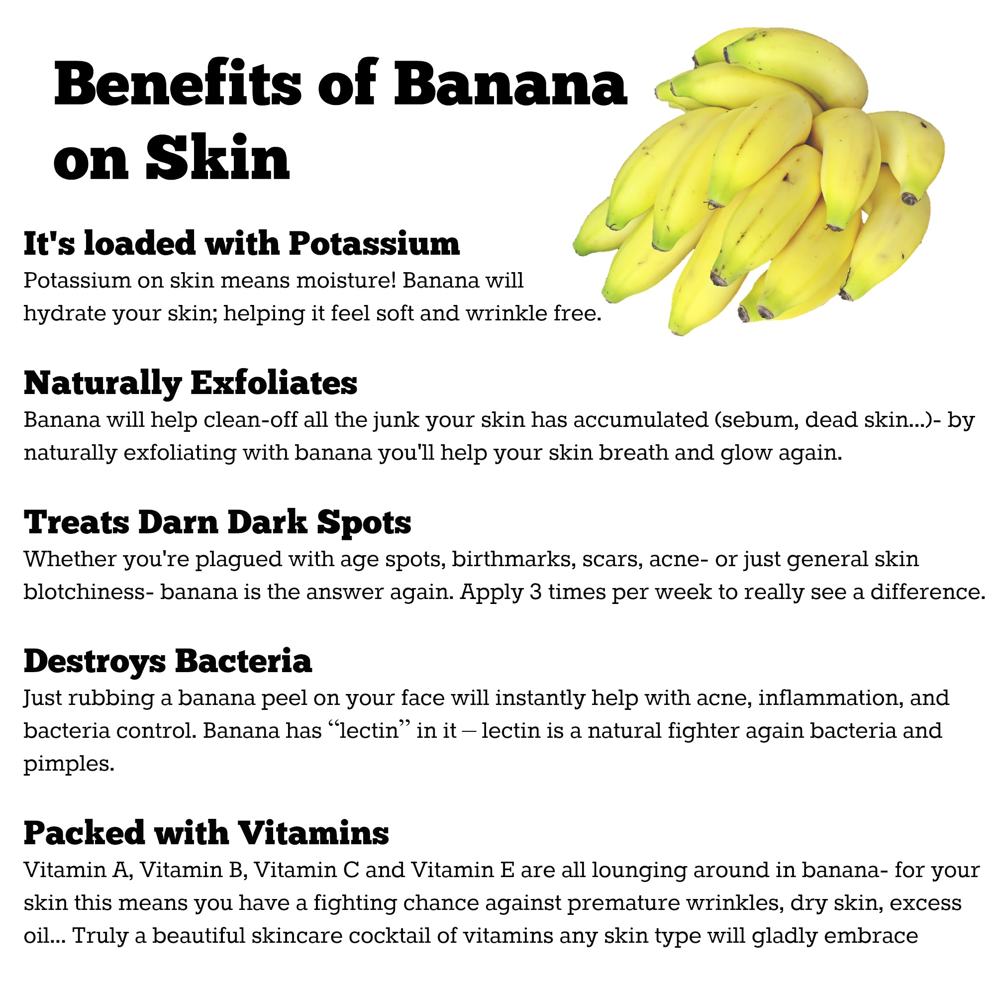 Pink Clay Banana Face Mask Recipe (By WhippedGreenGirl.com) #DIY #Skincare #Recipe