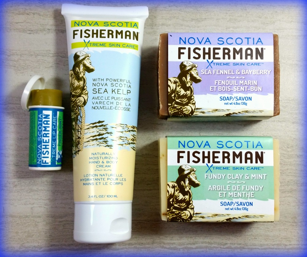 Nova Scotia Fisherman Review (By WhippedGreenGirl.com) #CanadianMade 100 natural #organic #skincare #kelp