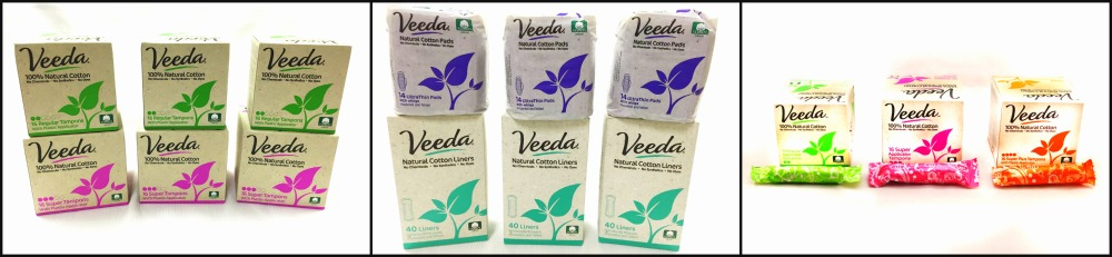 Veeda Review - Natural Cotton Pads (by WhippedGreenGirl.com) #review #chemicalfree #organic