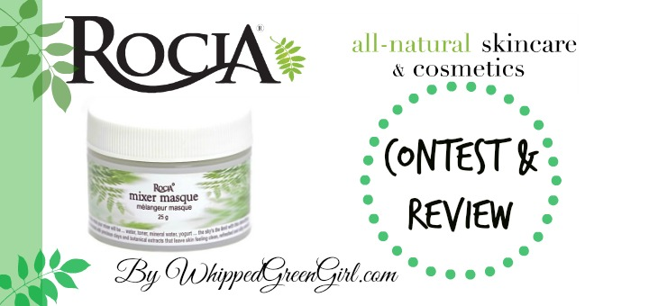 Rocia Mixer Masque Review (by WhippedGreenGirl.com) #organic #clay based #skincare