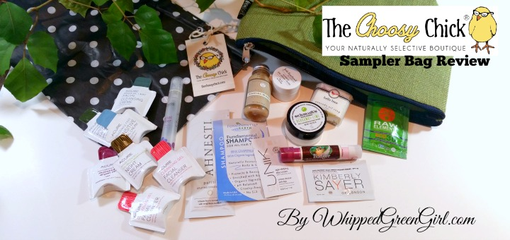 TheChoosyChick.com Review - SAMPLER BAG #Review (by WhippedGreenGirl.com) #Organic @Online #Shopping - my go to toxic-free skincare store