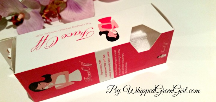 FaceOff Review (By WhippedGreenGirl.com) #allnatural #makeup remover miracle cloth #review