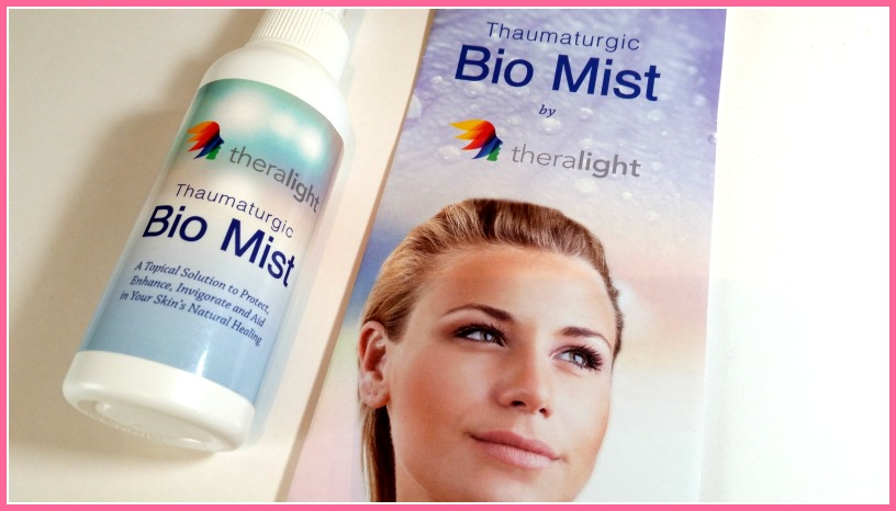 Theralight Bio Mist Review (by WhippedGreenGirl.com) #allnatural #skin #oinment #biomist #salt
