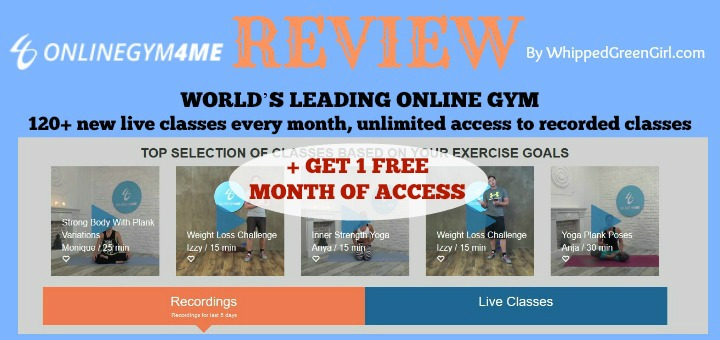 My OnlineGym4Me Review (By WhippedGreenGirl.com) #fitness #onlinegym4me #weightloss #workoutvids