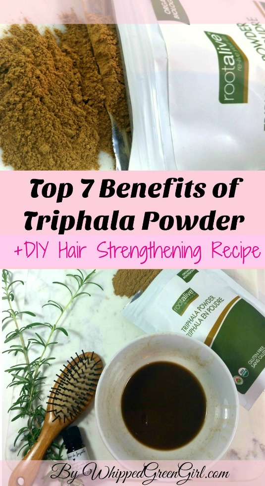 Top 7 Triphala Benefits + #DIY #Hair #strengthening #Recipe #triphala (by WhippedGreenGirl.com)