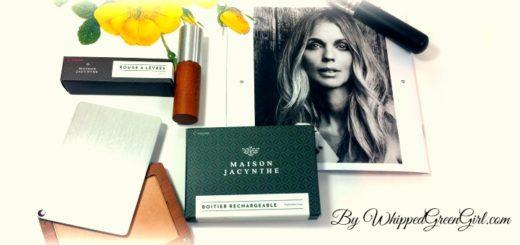 Maison Jacynthe MakeUp Review (by WhippedGreenGirl.com) #organic #makeup #toxicfree #skincare