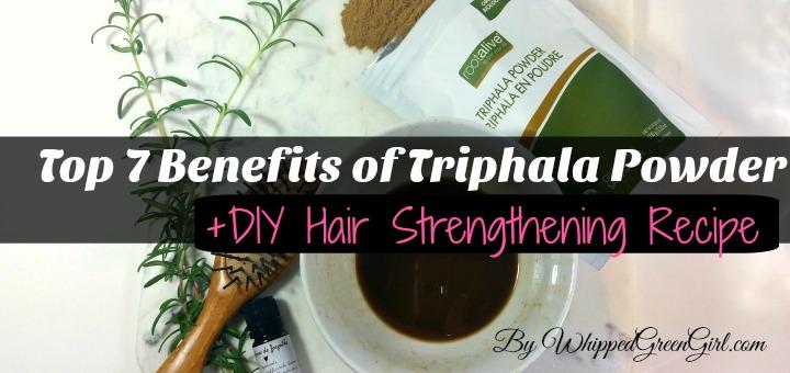 Top 7 Triphala Benefits + #DIY #Hair #strengthening #Recipe #triphala (by WhippedGreenGirl.com) #triphala