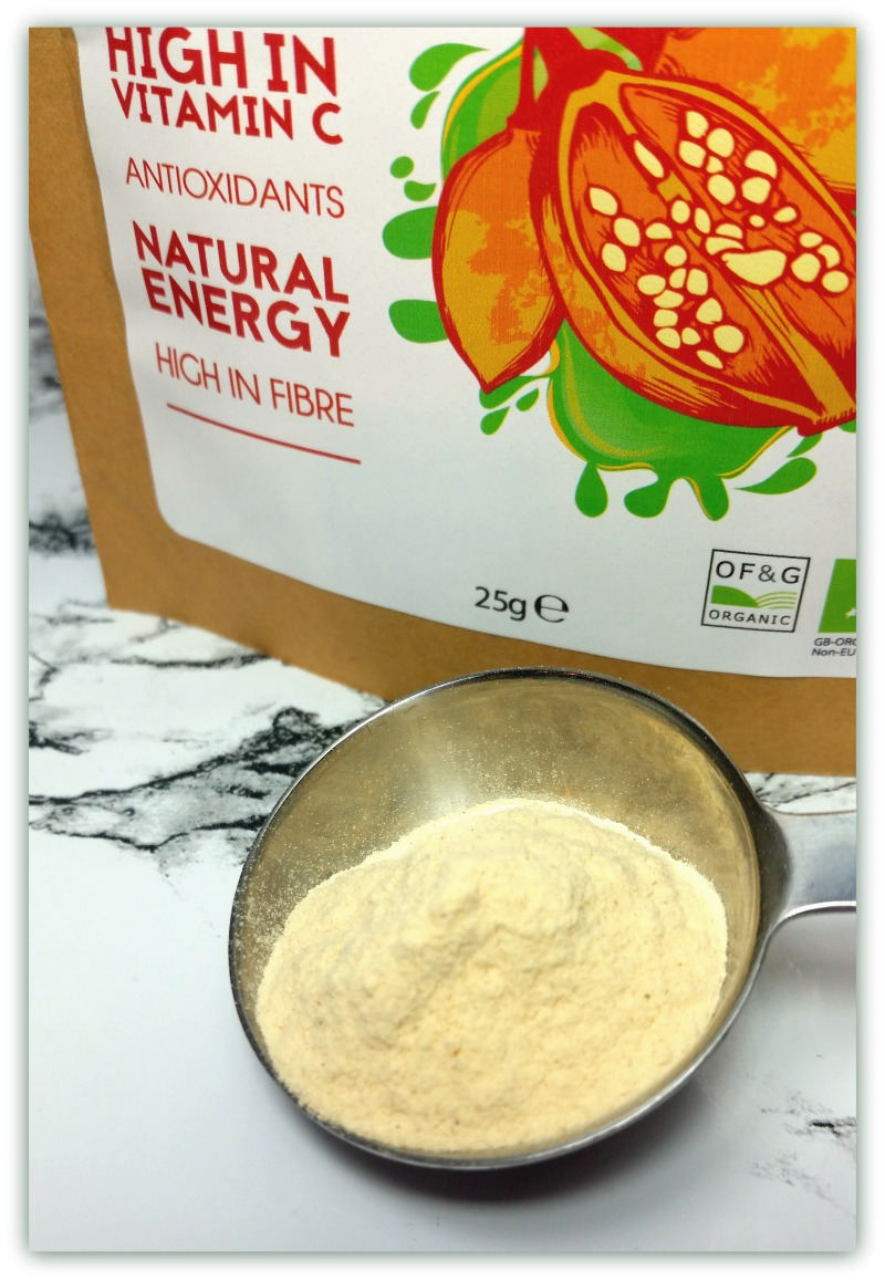 Organic Baobab Powder Review and #CONTEST (by WhippedGreenGirl.com) #VEGAN #SUPERFOOD #100Natural #baobab
