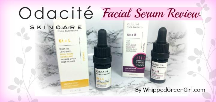 Odacite Facial Serum Review (by WhippedGreenGirl.com) #organic #fairtrade #luxury #aromatherapy #skincare