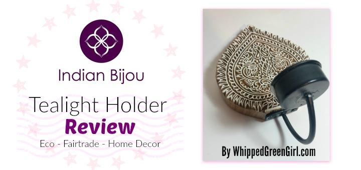 Indian Bijou Review - Tealight Holder - By WhippedGreenGirl.com #eco #fairtrade #homedecor