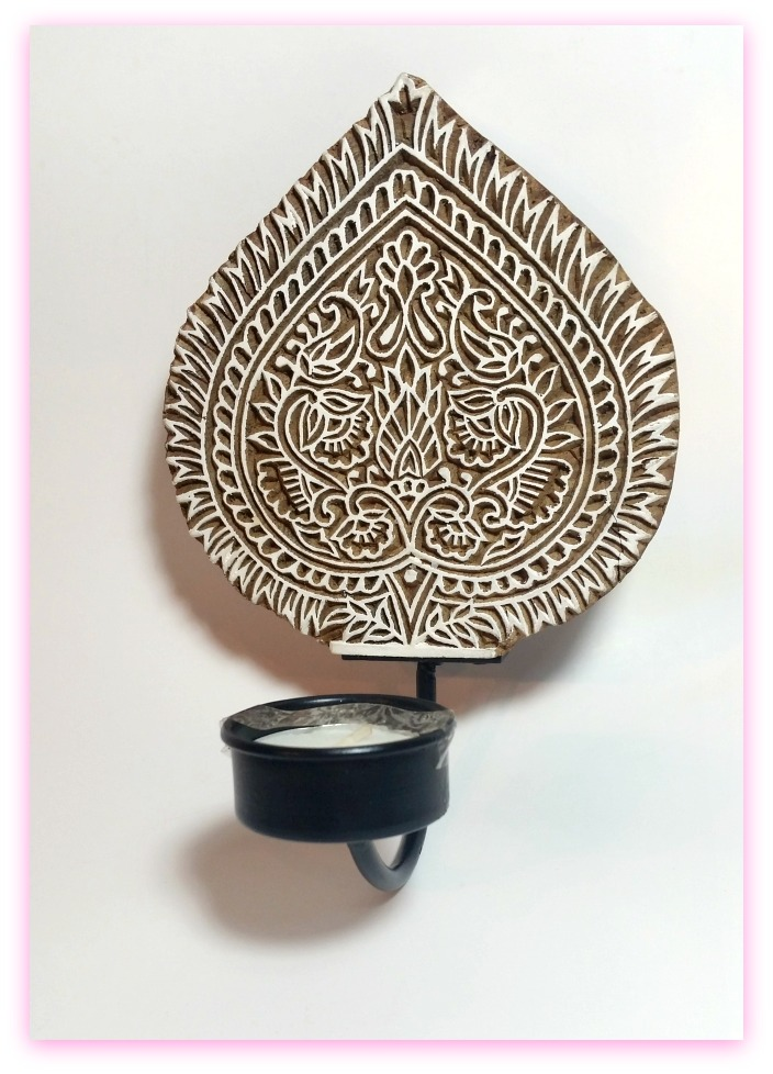 Indian Bijou Review - Tealight Holder - By WhippedGreenGirl.com #eco #fairtrade #homedecor