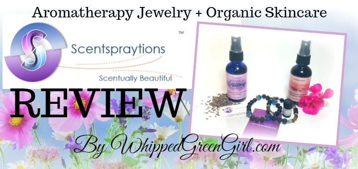 Scentspraytions Review (by WhippedGreenGirl.com) #Aromatherapy #jewelry and #skincare. Handmade in the USA!
