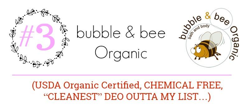2017 Best Natural Deodorants (By WhippedGreenGirl.com) #deodorant #skincare #organic #allnatural #aluminumfree #parabenfree